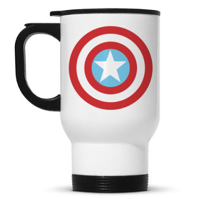 Кружка-термос Капитан Америка