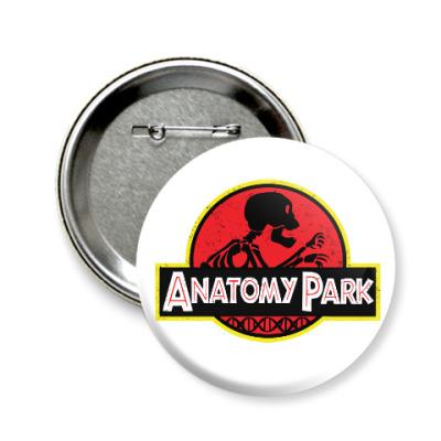 Значок 58мм Anatomy Park