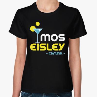 Женская футболка Мос-Эйсли