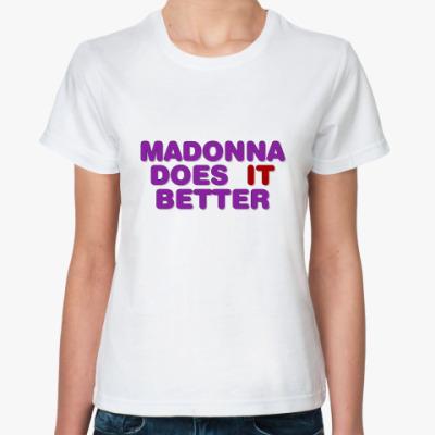 Классическая футболка Madonna