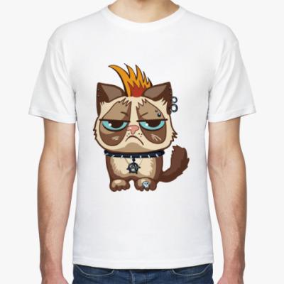 Футболка Кот Тард (Grumpy Cat) неформал