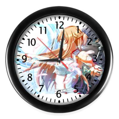 Настенные часы Асуна
