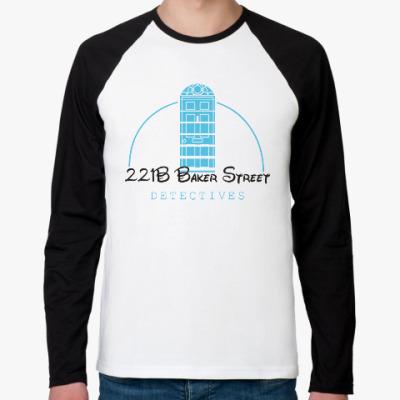 Футболка реглан с длинным рукавом 221 Baker Street