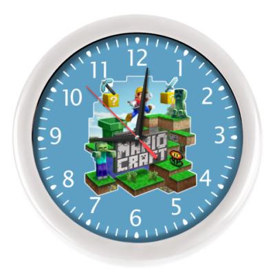 Настенные часы Super Mario Craft