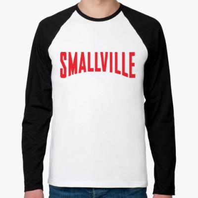 Футболка реглан с длинным рукавом Тайны Смолвиля / Smallville