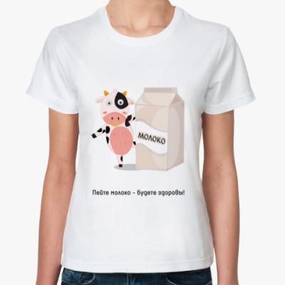 Классическая футболка Milk
