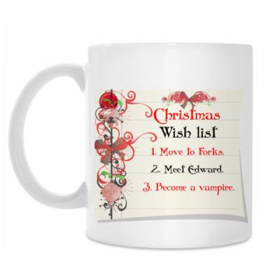 Кружка Christmas wish list