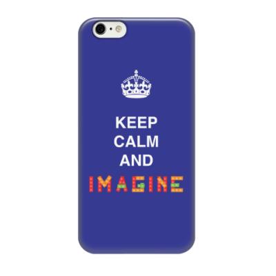 Чехол для iPhone 6/6s Keep calm and imagine