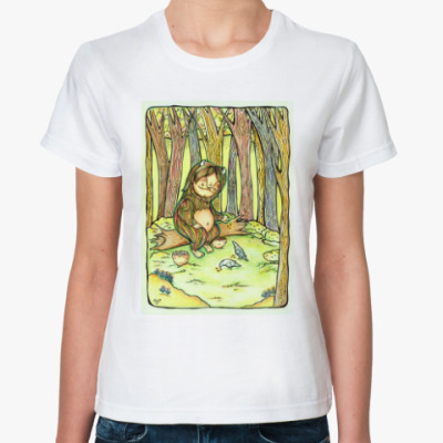 Классическая футболка Лесной тролль