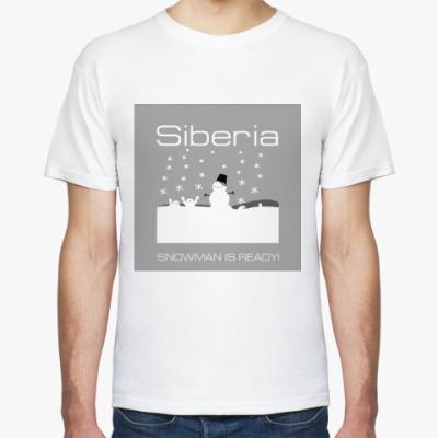 Футболка Siberia Snow-Man T-Shirt