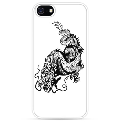 Чехол для iPhone Дракон – символ силы