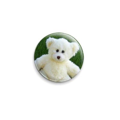 Значок 25мм Bear