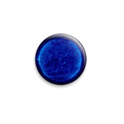 Значок 25мм Blue Sun