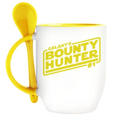 Кружка с ложкой Bounty Hunter