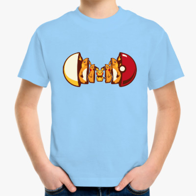 Детская футболка Покетрешка