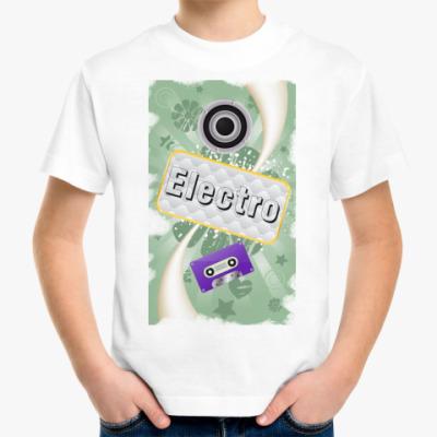 Детская футболка music