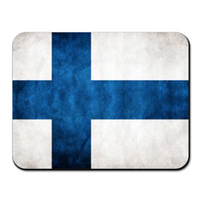 Коврик для мыши Финский флаг