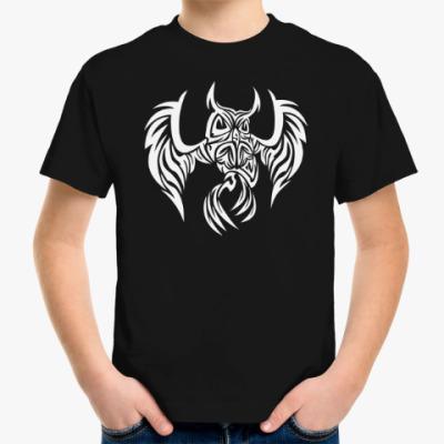 Детская футболка Сова узор