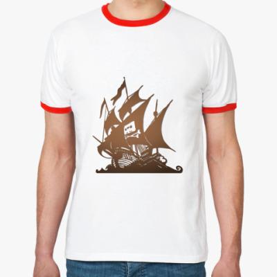 Футболка Ringer-T   Piratebay