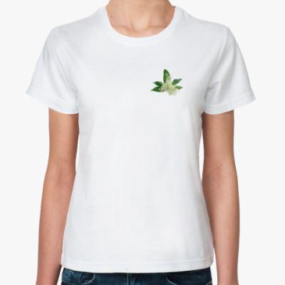 Классическая футболка Ландыши весны