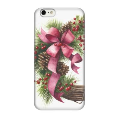 Чехол для iPhone 6/6s Christmas wreath