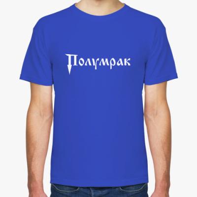 Футболка Мужская футболка Fruit of the Loom, синяя