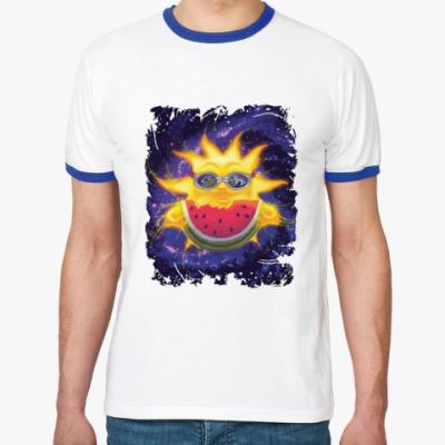 Футболка Ringer-T Солнечный арбуз
