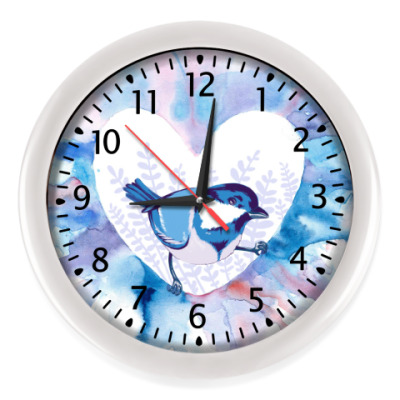 Настенные часы Птичка