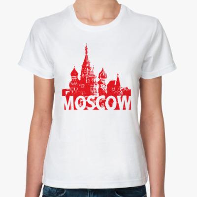 Классическая футболка Moscow