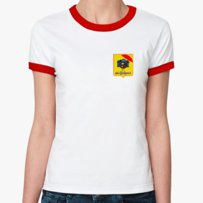Женская футболка Ringer-T Foto Графиня