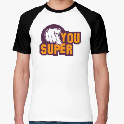 Футболка реглан U Super