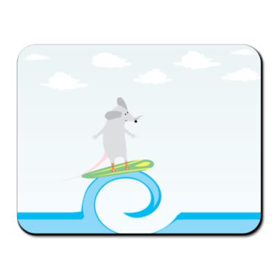 Коврик для мыши  серфер