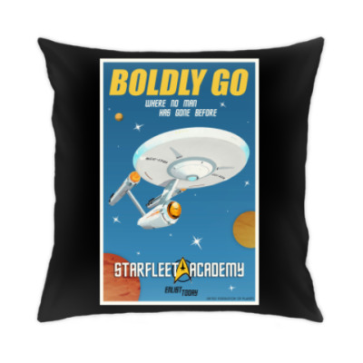 Подушка Star Trek Boldly Go