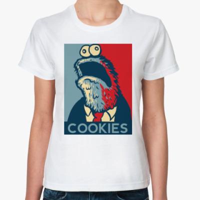 Классическая футболка COOKIES - Печеньки