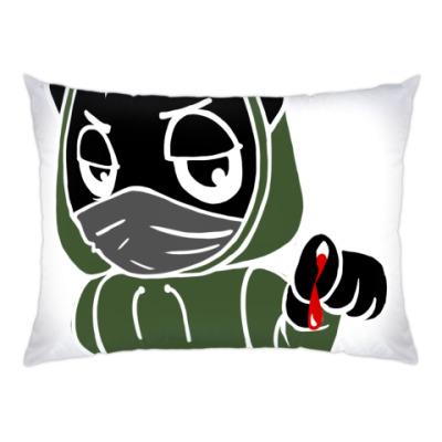 Подушка Черный кот ассасин