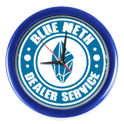 Настенные часы Blue Meth Dealer