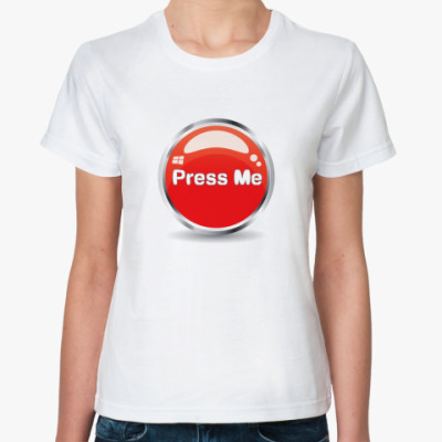 Классическая футболка Press me