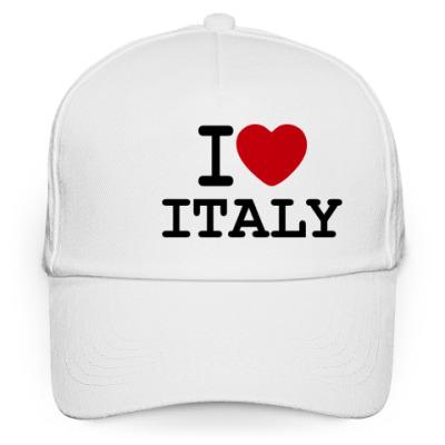 Кепка бейсболка I Love Italy