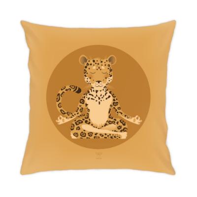 Подушка Animal Zen: J is for Jaguar
