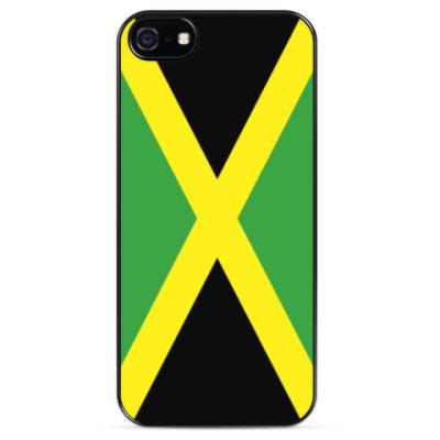 Чехол для iPhone Флаг Ямайки