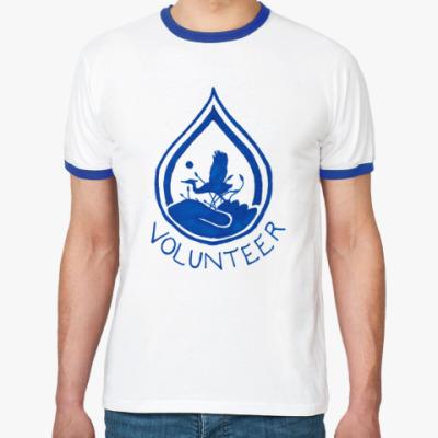Футболка Ringer-T Volunteer