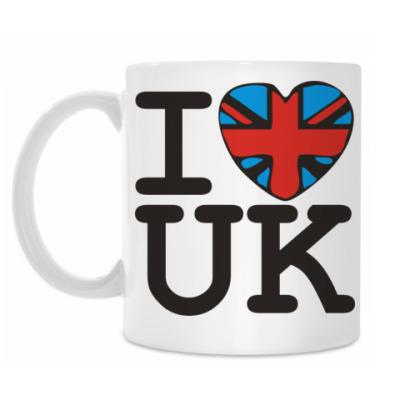 Кружка I love UK