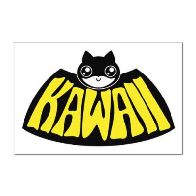 Наклейка (стикер) Kawaii Batman