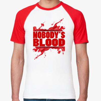 Футболка реглан Nobody's Blood