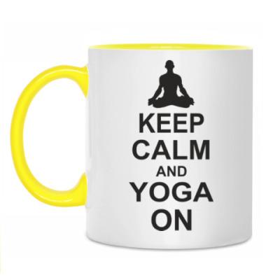 Кружка Yoga on