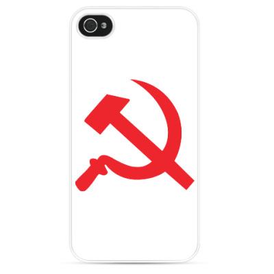 Чехол для iPhone Серп и молот - СССР