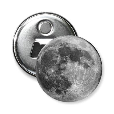 Магнит-открывашка Луна