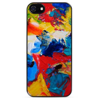 Чехол для iPhone Paint