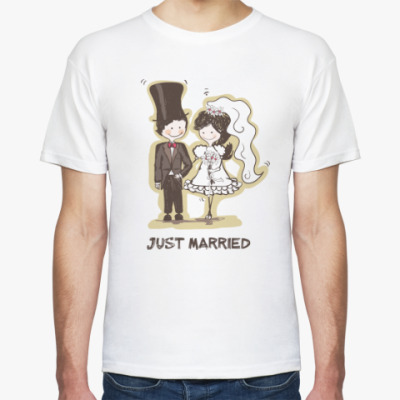 Футболка 'Just married'