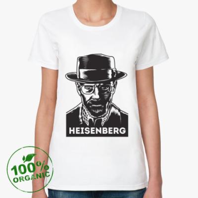 Женская футболка из органик-хлопка Хайзенберг